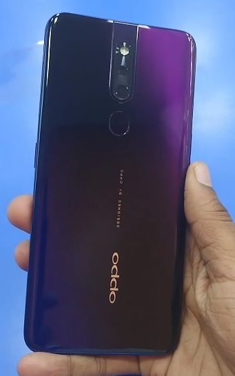 Oppo F11 Pro in Thunder Black