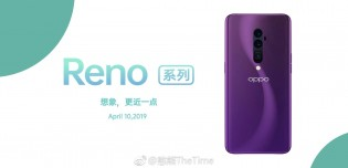 Oppo Reno in Purple