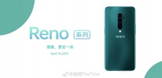 Oppo Reno in Green