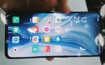 Oppo Reno front full-screen design leaks in hands-on video