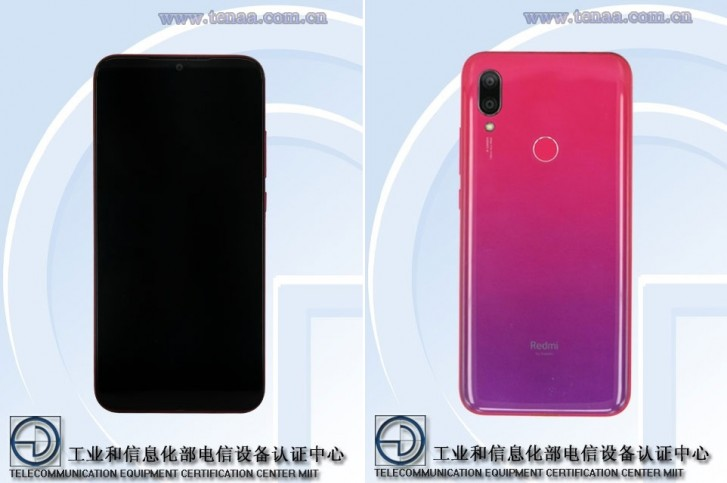Xiaomi Redmi 7 Pictures and Full Specs Leaked by TENAA