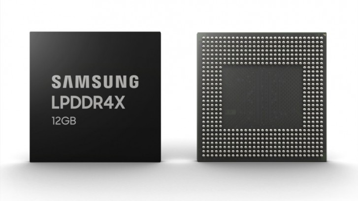 Your next smartphone might feature Samsung's 12GB RAM chip