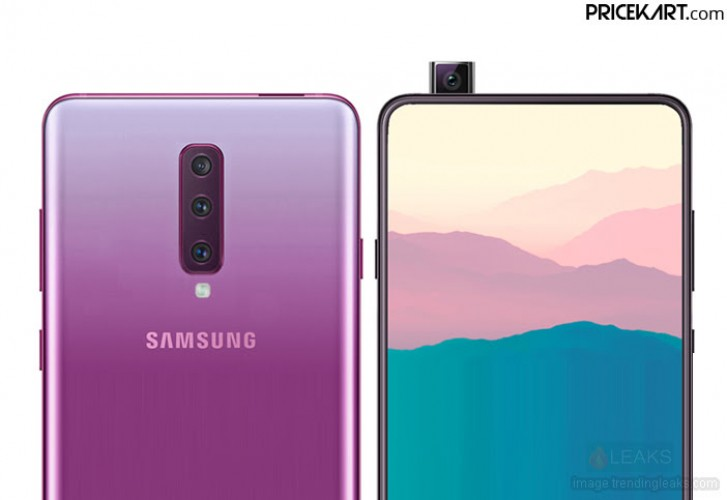 Samsung's upcoming Galaxy A90 to have a pop-up selfie cam