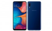 Samsung Galaxy A20 goes official with 6.4-inch Infinity-V display and 4,000 mAh battery