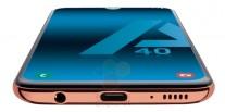 Samsung Galaxy A40 bottom side