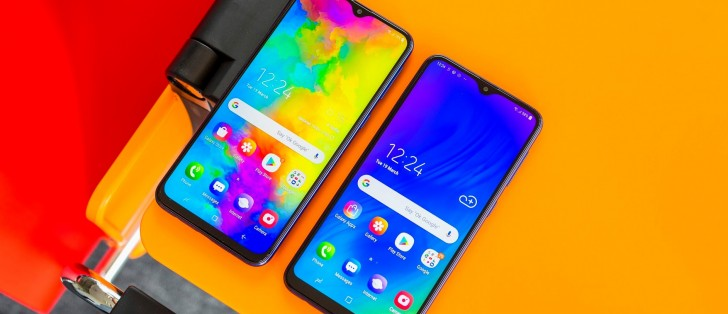 Samsung Galaxy M10 and M20 in for review