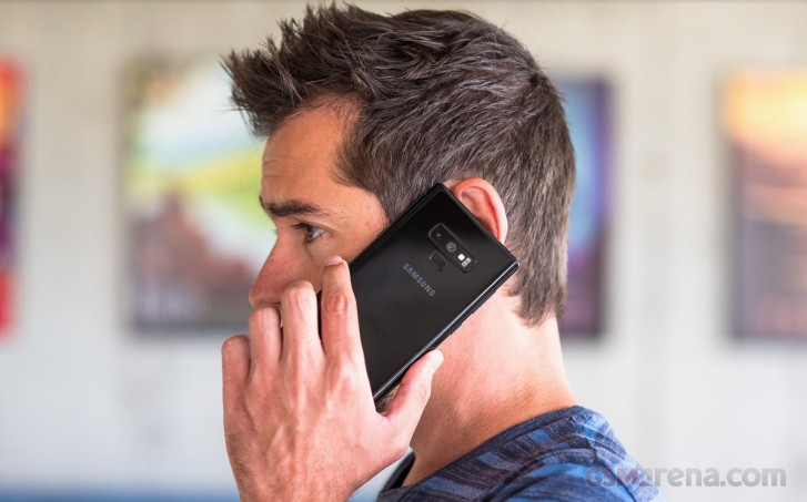 Unlocked DualSIM Galaxy Note9 receives One UI update