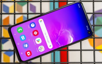 Samsung Galaxy S10e in for review