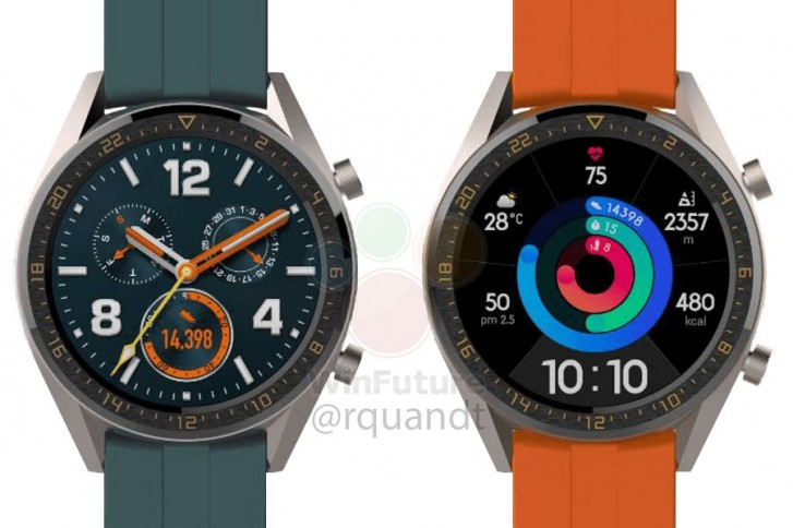 New Huawei Watch GT Active and Elegant will accompany P30 series