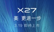 vivo X27 to launch on March 19 with a pop-up camera