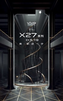 Do you see the vivo X27 outline?