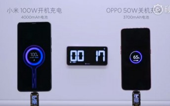 Xiaomi shows out 100W Super Charge Turbo