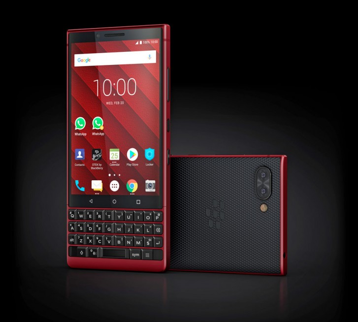 BlackBerry launches Red Edition KEY2 in the US