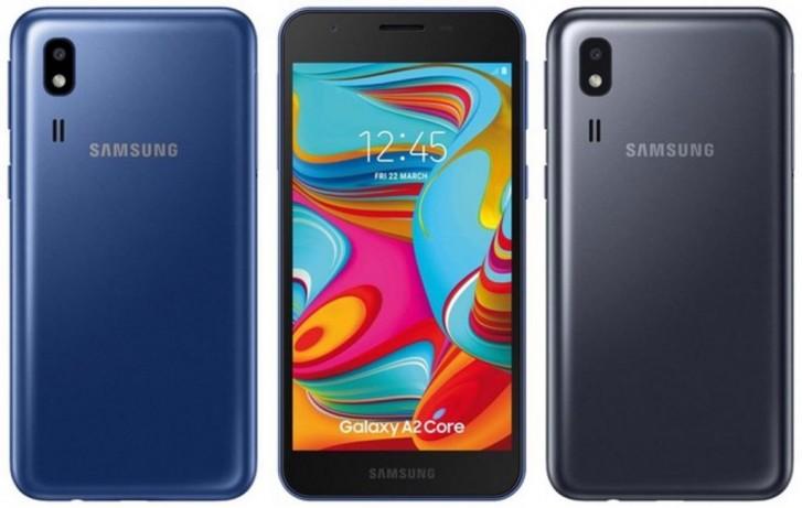 Samsung Galaxy A2 Core announced: a small, affordable Go edition phone