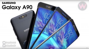 Samsung Galaxy A90 (renders by Waqar Khan)