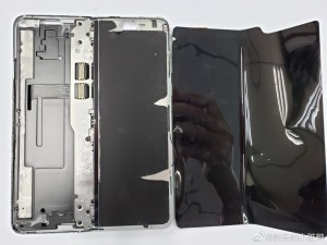The internals of the Samsung Galaxy Fold