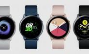 Samsung Galaxy Watch Active gets its first update