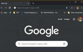 The latest Chrome 74 for Windows 10 has a secret dark mode