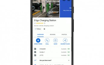 Google Maps adds real-time availability of EV chargers in the US and UK