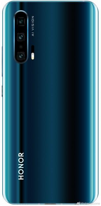 Penampakan Huawei Honor 20 Pro