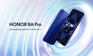 Honor 8A Pro goes official with Helio P35 SoC, waterdrop notch display