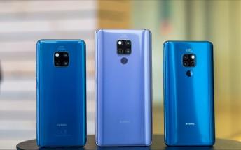 Huawei Mate 20 X 5G retail packaging leaks