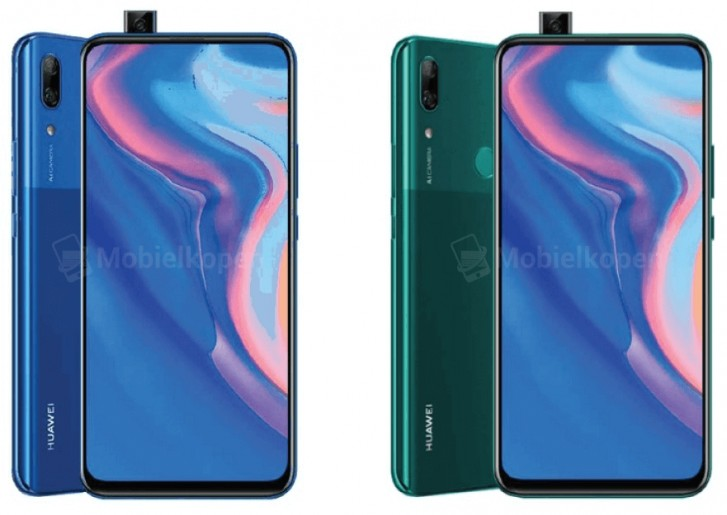 Renders leak of Huawei's first smartphone with a pop-up camera - GSMArena.com news - GSMArena.com 1