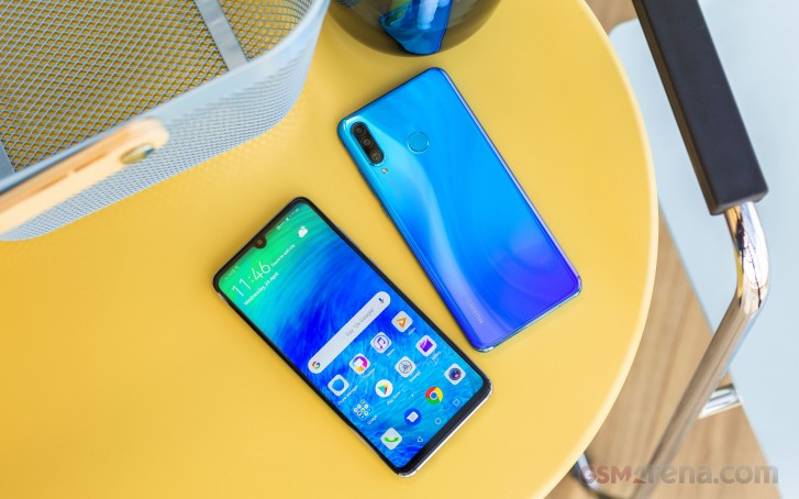 Honor 20 Pro render leaks ahead of launch, confirms quad-camera setup