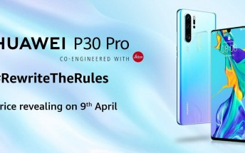Huawei P30 Pro Indian launch will be on April 9