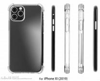 Apple iPhone XI case renders, source: SlashLeaks