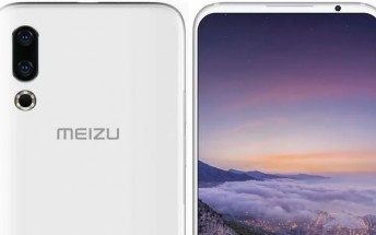 Meizu 16s press render leaks, showing off notchless display