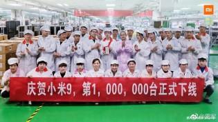 Mi 9 reaches 1 million shipments