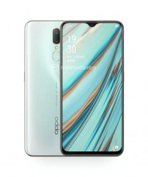 Oppo A9 in Ice Jade White