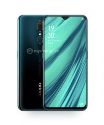 Oppo A9 in Mica Green