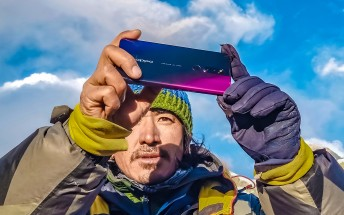 Oppo F11 Pro climbs to the Mt. Everest Base Camp to shoot some amazing photos