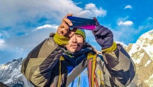 Oppo F11 Pro in the Himalayas