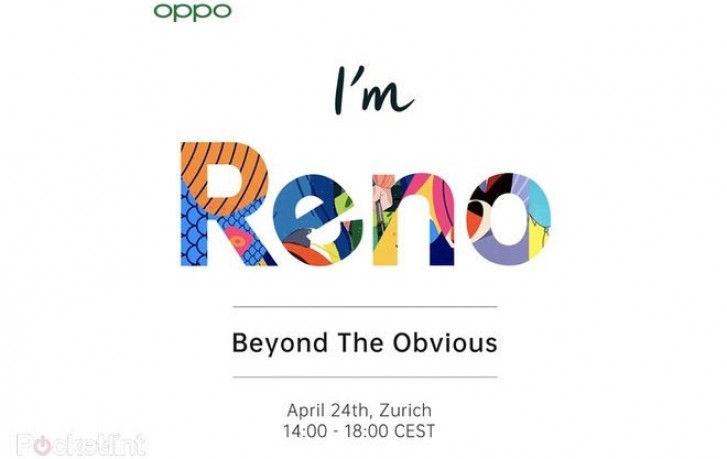 Acara Oppo Reno, di Zurich, Swiss.