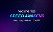 Watch the Realme 3 Pro get unveiled here