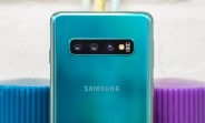 Samsung Galaxy S10 updated with a dedicated Night mode