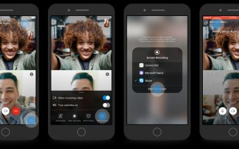 Skype adds screen sharing on iOS and Android