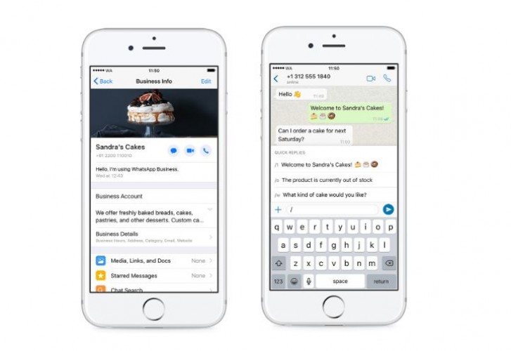 Whatsapp Business For Ios Gets Global Rollout Gsmarena Com News