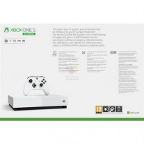 Microsoft Xbox One S All Digital box