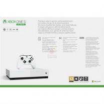 Microsoft Xbox One S All Digital box