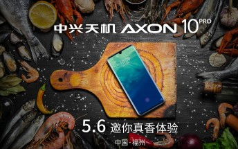 ZTE Axon 10 Pro listed online, sales begin May 7