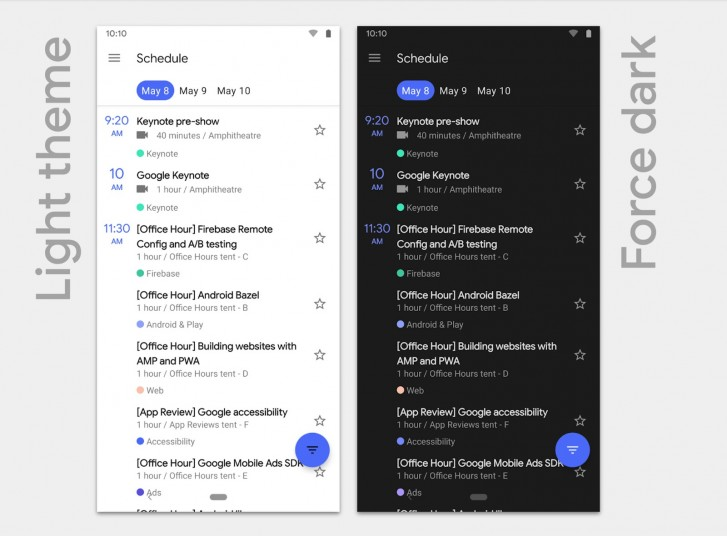 Android 10 Q gets rid of the navigation bar with new