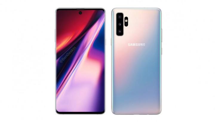 Penampakan Samsung Galaxy Note 10