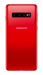 Samsung Galaxy S10 in Cardinal Red