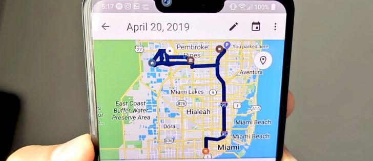 Delete Location Google Maps on