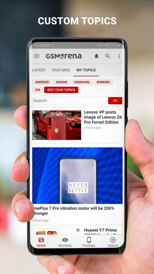 GSMArena Android app beta released - try it now - GSMArena