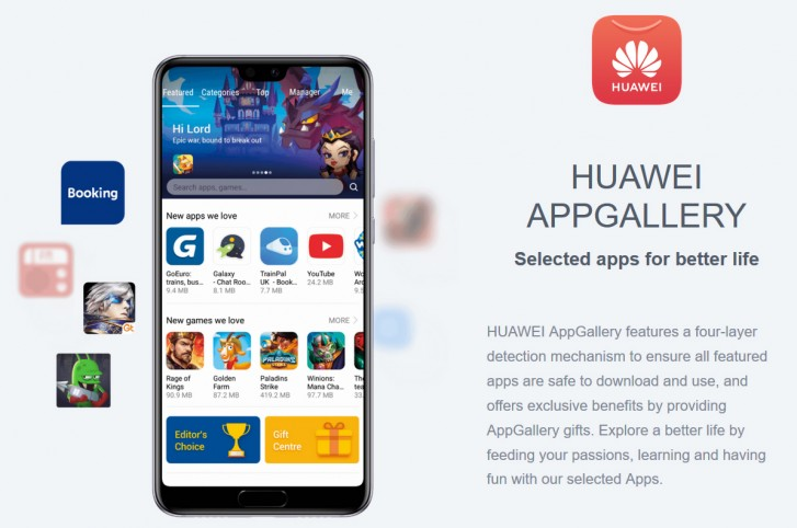 Huawei reportedly in talks with Aptoide to find replacement for